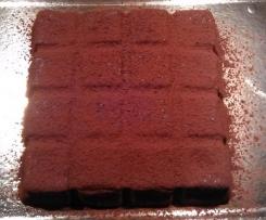 Gâteau magique facon brownie: chocolat et noix de pécan