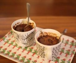 Mugcake Choco Noisettes (sans farine, sans lait)