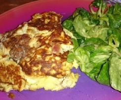 Omelette aux lardons