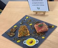Filets de truite de Loire aux légumes de saison en d'Anjou et sa sauce Safran - Cointreau