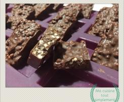 Chocolats au quinoa soufflé