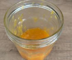 Confiture d'oranges à la vanille