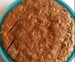 CAKE OLIVES LARDONS