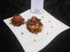Milles Feuilles de crevettes au sarrasin et sa bisque