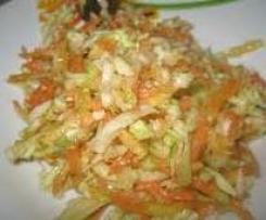 Salade d'été carottes, fenouil et orange