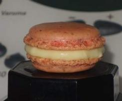 Macarons ganache chocolat blanc - citron vert