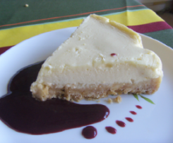 Cheese Cake et son coulis sans gluten