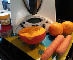 Soupe de Potiron ,Vitaminée aux épices