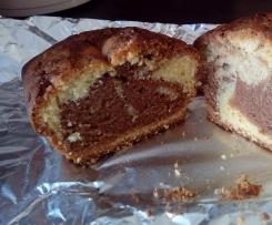 Cake marbré au café