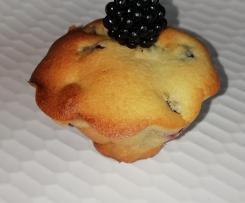 Petits gâteaux aux mûres sauvages