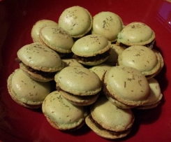 macarons aux olives