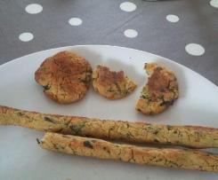 Croustillants goût falafel