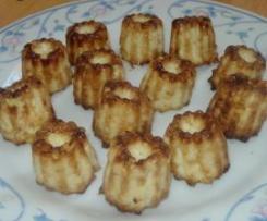 mini cannellés de courgettes