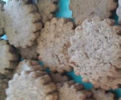 petits sablés  choco noisettes