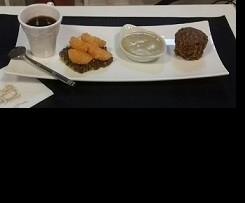 Café gourmand autour de la lentille verte du Berry