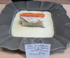 Filet de cabillaud, mirepoix de légumes oubliés, crème de poireaux