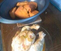 poulet entier cuit aux thermomix