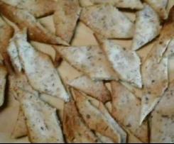Crackers sésame herbes de provence