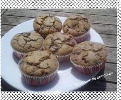 Muffins aux mûres sans gluten