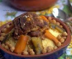 Couscous d'Agneau, Poulet, Merguez et ses Légumes