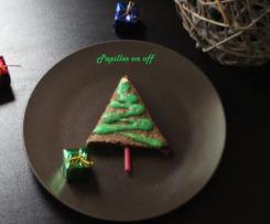 Sapins de Noël fondants au chocolat