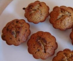 muffins legers aux pepites de chocolat(utiliser les blancs d'oeufs)