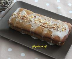 Cake noisettes, citron et farine de châtaignes