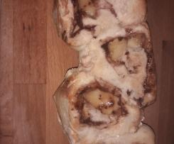 Baguette Pommes - Framboises