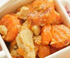 Poulet aux carottes express au Thermomix