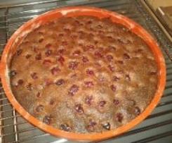 Gâteau chocolat marrons et griottes