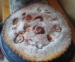 gâteau moelleux pommes cannelle