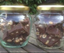 praline ou fondant au chocolat belge (fudge) à offrir