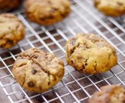 Cookies au muesli et pépites de chocolat