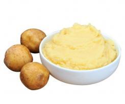 Purée de pommes de terre bébé