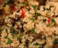 Taboulé aux olives (sans cuisson)