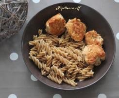 Boulettes de poulet aux légumes et paprika