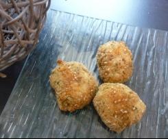 Nuggets de poulet maison : estragon et sésame