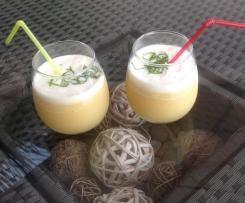 Cocktail fraîcheur et douceur