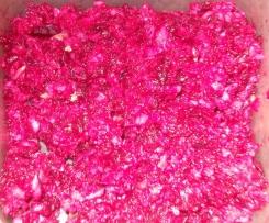 Salade fraîcheur betterave rouge radis noir