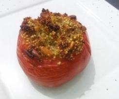 Tomates farcies Quinoa/Pesto