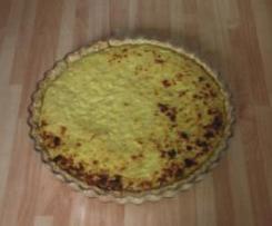 Tarte provençale aux oignons et anchois