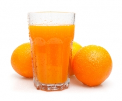Jus d'orange rapide