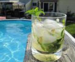 Cocktail Mojito Lillet
