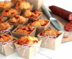 Muffins au chorizo