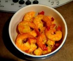 Crevettes apéritives épicées