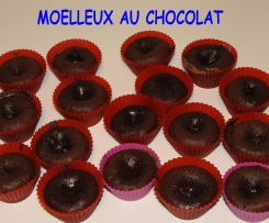 Moelleux au chocolat / coeur caramel au beurre salé