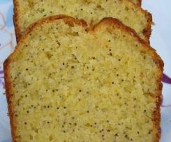 Cake au pavot / citron