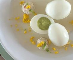 L'œuf du printemps, gelée aux agrumes