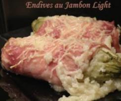 Endives au jambon (recette light)