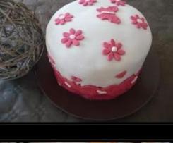 Rainbow cake / gâteau arc-en-ciel